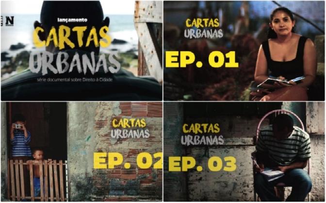 Cartas Urbanas – websérie documental sobre o direito à cidade