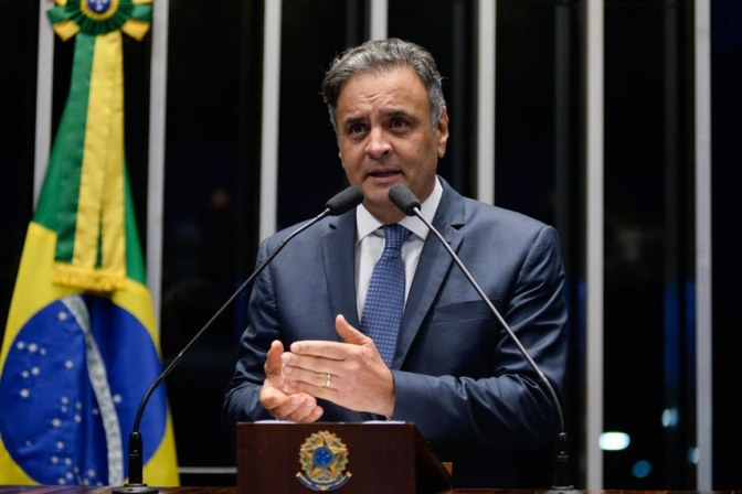 Como votou cada Senador no afastamento de Aécio Neves
