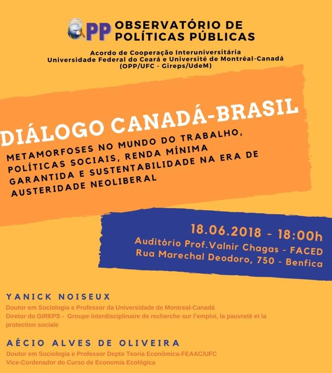Diálogo Canadá-Brasil